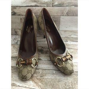 Gucci Close Toe Heels/Pumps Sz 8